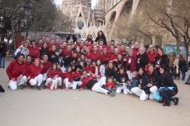 La colla Castellers d'Andorra està formada per unes 125 persones.