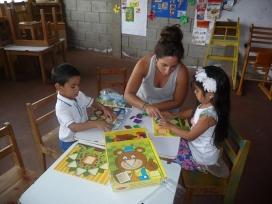 Voluntària en un projecte a Nicaragua
