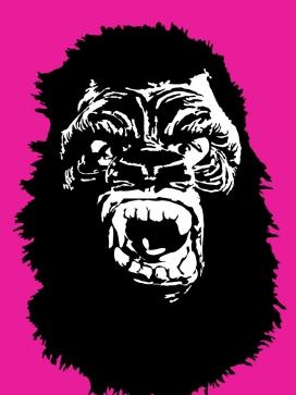 Creació gràfica de les caretes icòniques de les Guerrilla Girls
