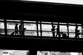 Migració de persones. Font: Flickr Hernán Piñera