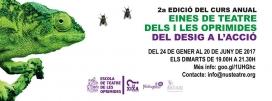 El curs de teatre començarà el 24 de gener. Font: Escola de Teatre de les Oprimides