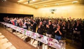 Acte de lliurament dels premis EYA 2016