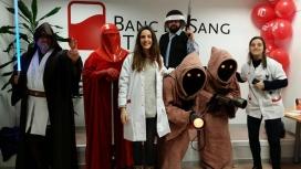 Star Wars Catalunya a la campanya del Banc de Sang