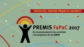Premis Fapac 217. Oberta la votació popular