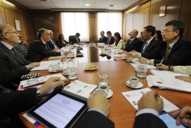 Taula de negociació internacional (Font: flickr.com)