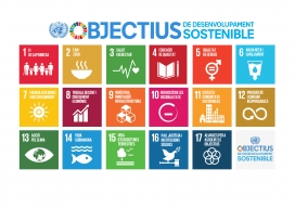 Infografia dels 17 objectius de Desenvolupament Sostenible / Font: Oxfam