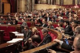 Sessió del Ple del Parlament. Font: Parlament de Catalunya