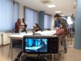Un moment de la formació prèvia per fer el documental