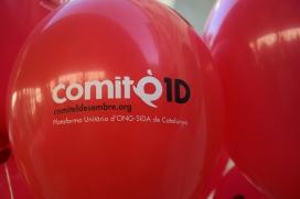 Comitè 1r de Desembre – Plataforma Unitària d'ONG-Sida de Catalunya / Foto: C1D