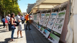 El mes de juny acollirà diferents exposicions per treure de l'oblit les persones desplaçades.