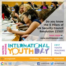 Dia Internacional de la Joventut 2017