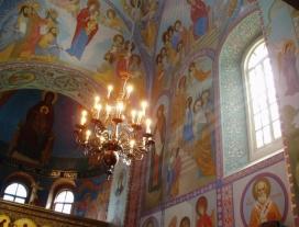 Imatge de l'interior d'una església