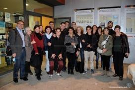 Representants de la Xarxa Antirepressió de Familiars de Detingudes quan van anar al Parlament, el juny passat
