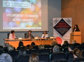 Imatge de la jornada catalana voluntariat i salut de la FCVS