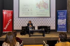Carles Capdevila va participar en la 3a edició de la Setmana del Voluntariat a Girona