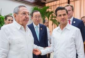 Signatura de l'Acord de Pau entre el Govern colombià i les FARC: Font: Presidencia de la República Mexicana, Flickr