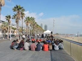 """Presentació de la guia """"Entre Terres"""" a Barcelona / Foto: SCI"""