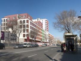 Edifici d'habitatges a les Antigues Casernes de Sant Andreu