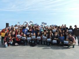 Participants a la presetnació a Barcelona / Foto: SCI