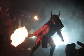 Els diables i diablesses han de respectar el recorregut pactat amb l'Ajuntament