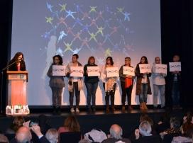 Imatge de la celebració del Dia Internacional del Voluntariat a Barcelona
