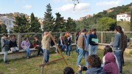 Promou pràctiques comunitàries relacionades amb la sostenibilitat / Foto: Aula Ambiental Bosc Turull