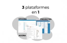 El programari lliure tindrà 3 plataformes en 1: una oficina en línia, un gestor de projectes i un àgora virtual.