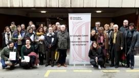 Imatge dels participants a la sessió realitzada al Casal de Gent Gran de Figueres (voluntariat.org)