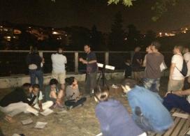 Es fan activitats com la nit d'astronomia / Foto: Aula Ambiental Bosc Turull