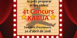 """4t Concurs de Vídeos Kabua """"Joves per canviar el món"""""""