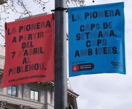 La inauguració de La Pionera serà el 7 d'abril al Passeig Calvell de Sant Martí.
