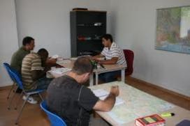 Imatge extreta de l'Escola de Formació Taxi