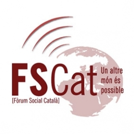 Logotip del Fòrum Social Català.