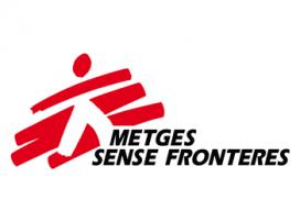 Logotip de Metges sense Fronteres.