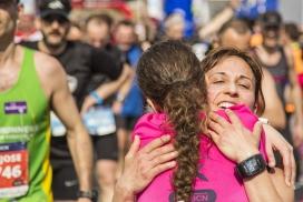 Emoció i solidaritat a la Zurich Marató de Barcelona.