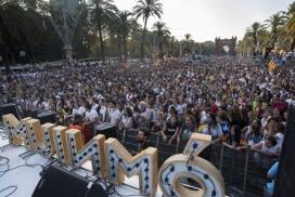 Concert Festa per la llibertat 11 setembre