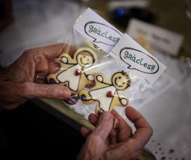 Galetes de la campanya 'Prenem partit per la infància'. Font: Fundesplai