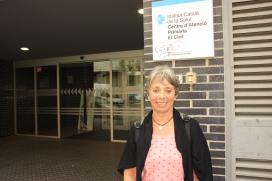 Montse Estruch és una infermera jubilada que participa dues vegades a la setmana en el programa Grans Actius de la FCVS (Font: Liana Aguiar)