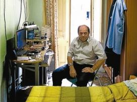 Manuel Barrios, antic vagabund (Foto: El Periódico de Catalunya)