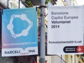 Barcelona capital europea del Voluntariat 2014