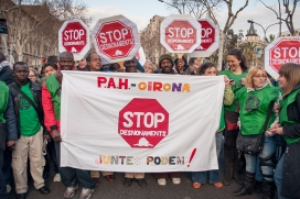 Acció de la PAH (Font: flickr.com)