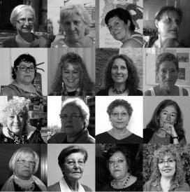 """Protagonistes de """"Dones del moviment veïnal d'ahir i d'avui"""" de la CONFAVC"""
