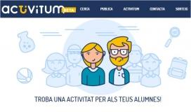 Aspecte del web d'Activitum
