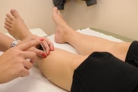Aplicant les agulles en peus i cames