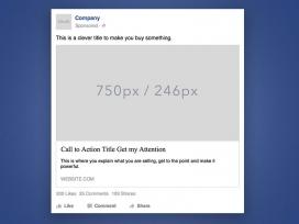 Mitjançant aquest simulador d'anuncis podreu previsualitzar com quedaria un anunci a Facebook.