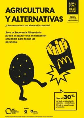Alternatives a l'alimentació insana. Font: VSF Justícia Global Alimentària