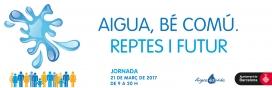 La plataforma Aigua és Vuda proposa un Dia Mundia de l'Aigua reflexionant sobre l'aigua (imatge: aigua és vida)