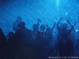 Fotografia de la Festa del foc i l'aigua Escaldàrium, a Caldes de Montbui