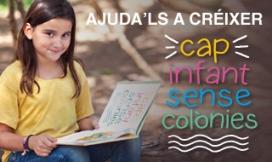 Banner de la campanya #Ajudalsacréixer de la Fundació Pere Tarrés