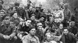 Membres de la Brigada Abraham Lincoln que va lluitar contra el feixisme a Espanya. Font: Associació per a la Recuperació de la Memòria Històrica